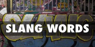 ONLINE SLANG WORDS DICTIONARY
