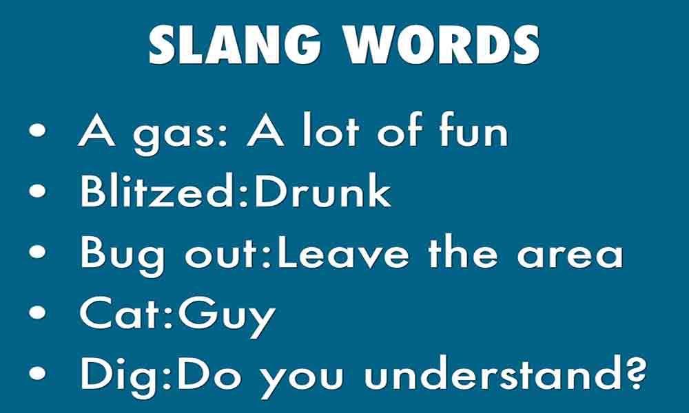 ONLINE SLANG WORDS VOCABULARY LIST