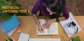 IELTS Listening Exams Online Test 2