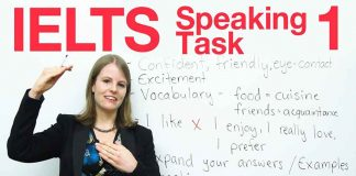 IELTS SPEAKING TEST 1 HOW TO GET HIGHER SCORE
