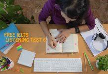 IELTS Listening Exams Online Test 6