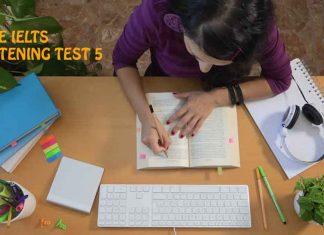 IELTS Listening Exams Online Test 5