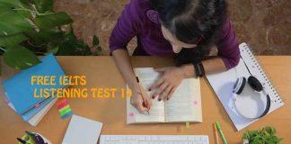 IELTS LISTENING MOCK TEST SAMPLE 10