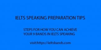 IELTS SPEAKING PREPARATION TIPS