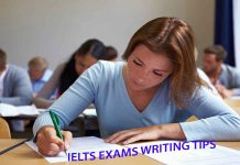 IELTS EXAMS WRITING TIPS