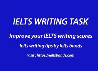 IELTS WRITING TASK BEST TIPS