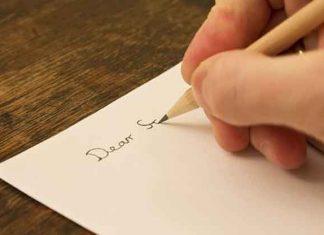 LETTER WRITING SPECIMEN FORMAL INFORMAL