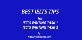 BEST TIPS IELTS WRITING TASK 1 TASK 2