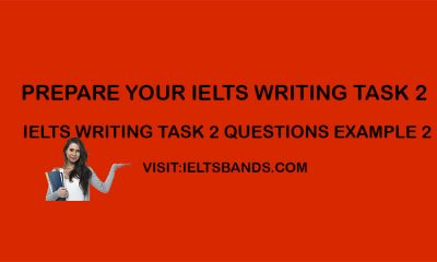 IELTS WRITING TASK 2 QUESTIONS EXAMPLE 1