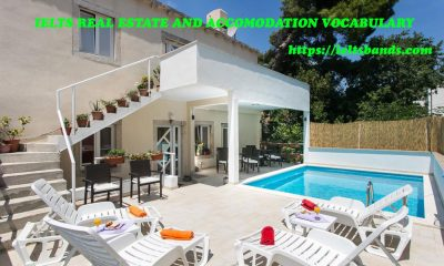 IELTS REAL ESTATE AND ACCOMODATION VOCABULARY