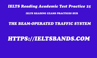 IELTS Reading Academic Test Practice 25