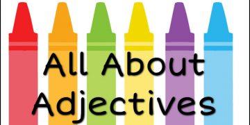 Parts Of Speech Kinds of Adjective Basic English Grammar