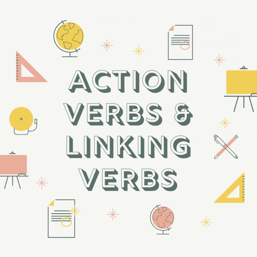 Learning About Action Verbs And Linking Verbs Ielts Bands Preparation [ 1024 x 1024 Pixel ]