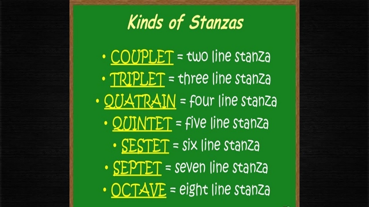 What Is Stanza English Grammar Poetry Basics Stanzas He acknowledges that he is now serving a new mistress. what is stanza english grammar poetry basics stanzas